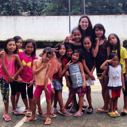 In The Philippines, I had the privilege of leading Bible studies with these sweet girls. Saturday afternoons with these girls were some of my favorite memories. | Photo by Kate Kelly