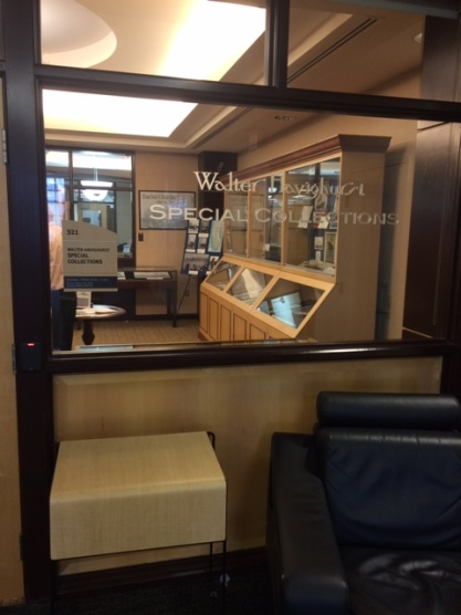 Walter Havighurst Special Collections, housed on the third floor of King Library, houses rare items that are too valuable or fragile to be checked out in the regular library circulation.