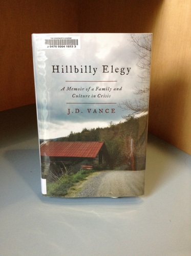"Meibers cousin's novel ""Hillbilly Elegy"" instantly captivated audiences after it was released in June. 