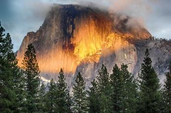 Half Dome in Yosemite National Park | Photo by Daniel Gillaspia via Creative Commons